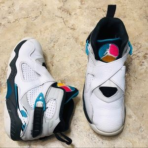 Jordan Retro VIII South Beach Teal Youth 13.5C